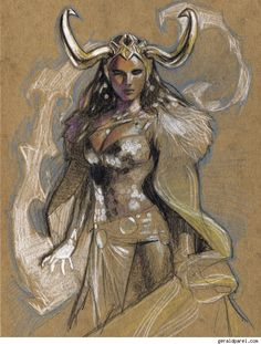 Gerald Parel Pencils Smoldering Superheroine Pin-Ups And The Masters Of The Universe [Art] - ComicsAlliance   Comic book culture, news, humor, commentary, and reviews