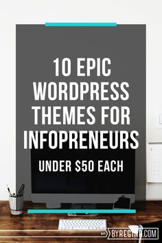 It is tough to find WordPress themes for infopreneurs that allow you to both highlight your content and your email list or products. Check out this list. Wordpress For Beginners, Wordpress Guide, Wordpress Help, Wordpress Template, Premium Wordpress Themes, Wordpress Plugins, Web Design, Blog Design, Blogging