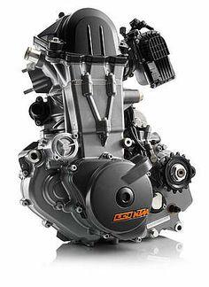 KTM 690 LC4 monocylinder engine
