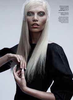 Aline Weber Models the New Austerity for S Modas September Cover Shoot
