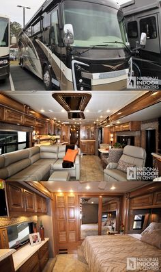 Motorhome Living, Motorhome Interior, Bus Interior, Luxury Campers, Luxury Motorhomes, Luxury Van, Luxury Life, Luxury Rv Living, School Bus Rv