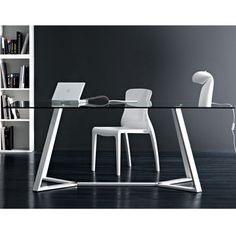 Archie-180 Dining Table White, $2,060, now featured on Fab.