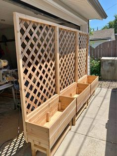 Backyard Patio Designs, Backyard Projects, Outdoor Projects, Backyard Landscaping, Lattice Wall, Lattice Garden, Lattice Patio, Outdoor Spaces, Outdoor Living