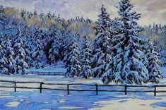 Paintings - David Langevin Artworks Inc. Acrylic Painting Techniques, Snow Scenes, Canadian Artists, Old Master, Winter Landscape, Learn To Paint, Landscape Paintings, Landscapes, Photo Contest