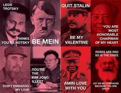 saw this on Facebook.. communist valentine