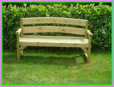 Diy Outdoor Bench With Back.DIY How To Make Garden Benches From With Back Support . DIY Outdoor Bench With Table HowToSpecialist How To . Sturdy Bench Buildsomething Com. Home and Family Wooden Garden Chairs, Wooden Garden Furniture, Simple Furniture, Black Furniture, Bathroom Furniture, Wooden Bench Plans, Diy Wood Bench, Patio Bench, Wood Plans