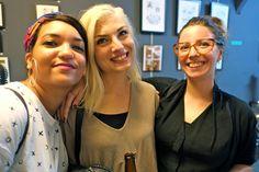 Dessine moi un poney exhibition The tattooed lady, montreuil Paris illustration drawings comics Tarte Tatin Mangez des Tartes