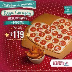 Domino's Pizza Pizza Corazon Para Mama más Papotas