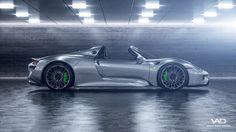 Porsche 918 Spyder on Behance