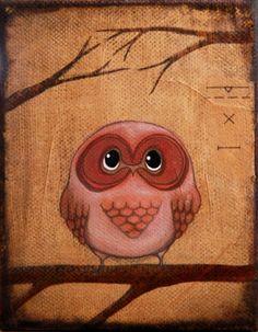 Owl Triptych | Nellie Windmill