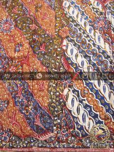 Sarung Batik Tulis Lasem Motif Tiga Negeri Klasik | Indonesian Batik Fabric Pattern Design http://thebatik.co.id/kain-batik-bahan/