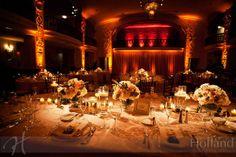 Amber lighting? Grand Ballroom