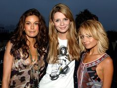 Teri Hatcher, Mischa Barton and Nicole Richie