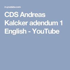 CDS Andreas Kalcker adendum 1 English - YouTube