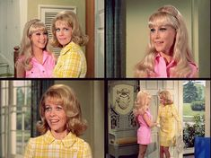 """The Lovely Ladies of I Dream Of Jeannie - Amanda Bellows and Jeannie Nelson in """"The Mad Home Wrecker"""" Season 5!"""
