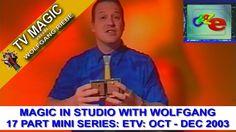 Craz-e Magic In Studio Mini Series: Dec TV Magician Wolfgang Riebe Episodes Series, Tv Series, The Magicians, Tv Shows, Studio, Mini, Youtube, Study