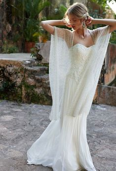 @BHLDN Weddings lace wedding dress