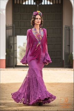 Bouganvilla q bonito Cute Dresses, Beautiful Dresses, Flamenco Costume, Spanish Dress, Costume Design, Fashion Photo, Evening Dresses, Fashion Dresses, Dress Up