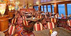 Norwegian Gem cruise ship Garden Café with buffet