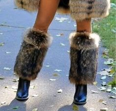 Real fur legwarmers / gaiters Real fur, leg warmers, fur leg warmers, medieval clothing, for viking Thigh High Leg Warmers, Fur Boots, High Boots, Fur Clothing, Medieval Clothing, Sexy Boots, Fur Slides, Fur Jacket, Cleopatra