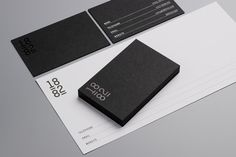 Business cards and compliment slips | Pentagram