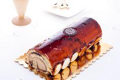 Chocolate & Hazelnut Ice Cream Swiss Roll