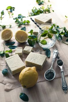 homemade herbal soap Click picture for info