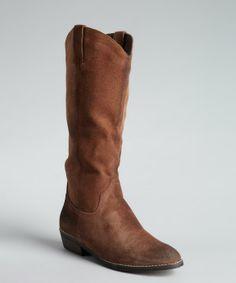 Kelsi Dagger cognac leather 'Frisco' cowboy boots