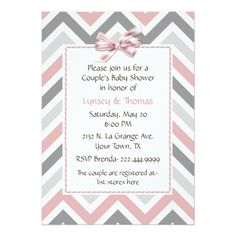 Trendy Couple's Child Bathe Invitation.  See even more by visiting the picture
