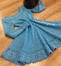 Crochet Dress for Women Free Pattern - crochet - Skirts & Dresses - Crochet Crochet Kids Hats, Crochet Gloves, Crochet Beanie, Crochet Poncho, Mode Crochet, Crochet Top, Crochet Books, Diy Crochet Dress, Flower Crochet