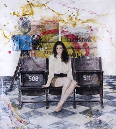 Anne - Acrylic on canvas - 120x100cm