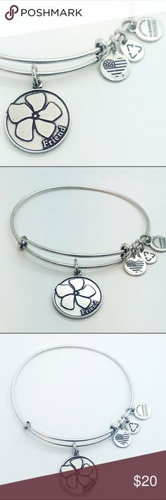 Alex and Ani Tree of Life  bangle charm New with no tags and no box pictures by me silver color. Alex & Ani Jewelry Bracelets