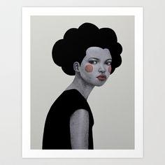 Cornelia Art Print by Sofia Bonati - $17.00