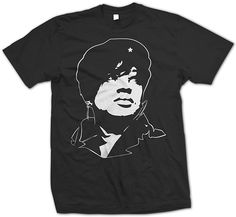 Custom design by ArtBallBeats inspired by revolutionist, Che Guevara.Description:Screen printed on American Apparel Tri-Blend (50% polyester/25% cotton/25% rayon)Cotton lends both comfort and durability