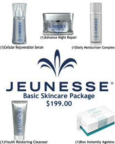 Jeunesse is the worldwide leader in advanced skincare and anti-aging technology. WELCOME CLIENT & save ! Best Anti Aging, Anti Aging Skin Care, Cleanser, Moisturizer, Spa Day At Home, Work From Home Business, Olay Regenerist, Serum, Designer