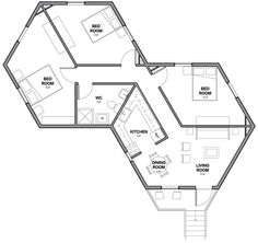 Double unit Hex House by Architects for Society refugee crisis housing architecture news