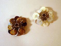 Bobbin/Button Jewelry  @http://mlinla.blogspot.com/