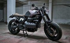 Motorecyclos K100 Scram   Inazuma café racer