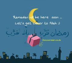 رمضان قرب..