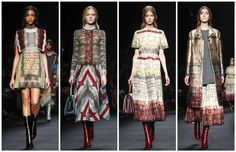 Maison Valentino Fall 2015 RTW Collection #pfw #fw15
