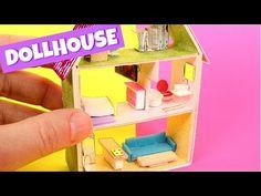 DIY Miniature Matchbox Dollhouse Tutorial - YouTube