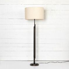 Four Hands Look Book Feature Item: Lyle Floor Lamp-Light Beige Planter Table, Black Floor Lamp, Floor Lamps, Studio Furniture, Burke Decor, Old Hollywood Glamour, Light Beige, Lamp Light, Modern Design