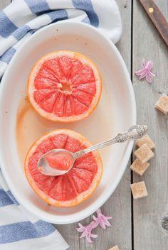 grapefruit breakfast.