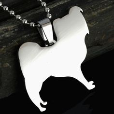 Stainless steel Papillon Dog