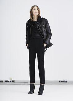 IRO FW14: Jameson Jacket, Catrine Top, Klara shoe