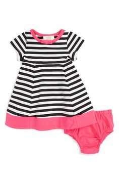 kate spade new york stripe dress (Baby Girls) available at #Nordstrom