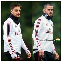 """145 mentions J'aime, 1 commentaires - AC Milan India  (@acmilanindia) sur Instagram: """" @jackbonaventura @bonuccileo19! ⚫❤️ ___________________________ #acmilan#rossoneri…"""""""
