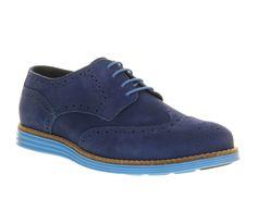 Mens Ask The Missus Uranus Brogue Blue Nubuck Blue Sole Formal Shoes in Clothes, Shoes & Accessories, Men's Shoes, Formal Shoes   eBay