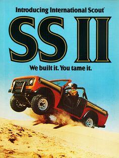 1977 International Scout SS II by aldenjewell, via Flickr