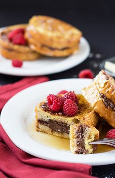 Nutella Stuffed French Toast | 19 Extremely Naughty Ways To Eat Chocolate For Breakfast